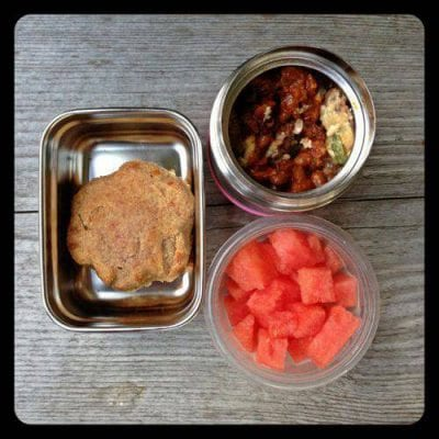 Nut-Free School Lunch Ideas 8 from 100 Days of Real Food #realfood #lunchbox