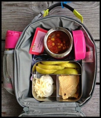 Nut-Free School Lunch Ideas 7 from 100 Days of Real Food #realfood #lunchbox