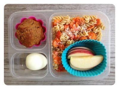 Nut-Free School Lunch Ideas 6 from 100 Days of Real Food #realfood #lunchbox