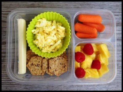 Nut-Free School Lunch Ideas 5 from 100 Days of Real Food #realfood #lunchbox