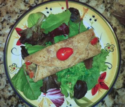 Real Food Tips (Sweet Potato & Black Bean Burrito) on 100 Days of Real Food #realfood