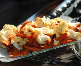How to Roast Vegetables (Cauliflower & Carrots) from 100 Days of Real Food