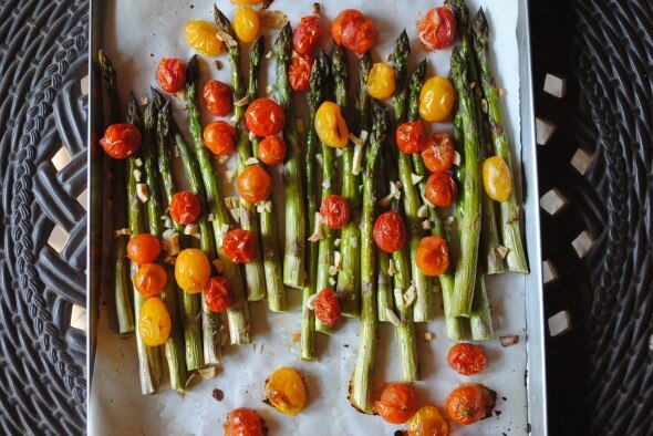 How to Roast Vegetables (Four Ways) from 100 Days of Real Food