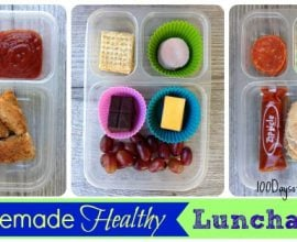 Homemade Healthy Lunchables by 100 Days of #RealFood #Lunchables