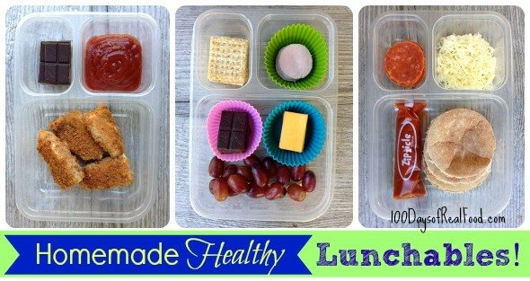 Homemade Lunchables, Healthy Junk Food
