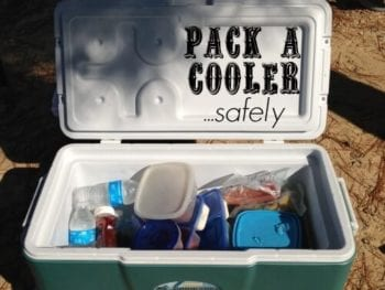 How To Pack A Cooler3 350x263 - Real Food Tips: How to Pack a Cooler (Safely)