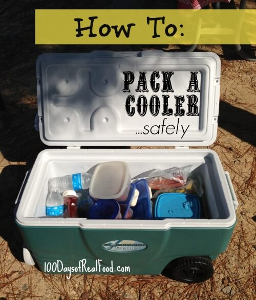 How To Pack A Cooler