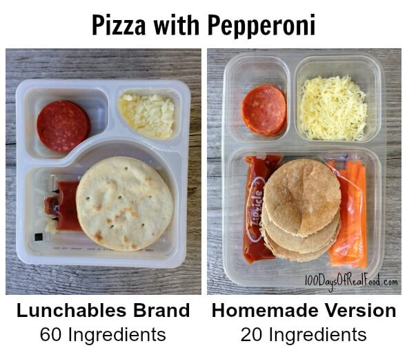 Homemade Healthy #Lunchables by 100 Days of #RealFood
