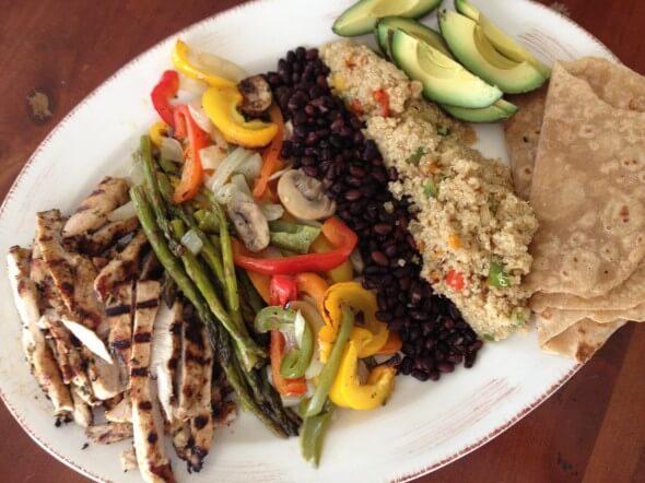 Real Food Tips (Fajitas) on 100 Days of Real Food