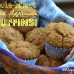 Carrot Applesauce Muffins from 100 Days of #RealFood
