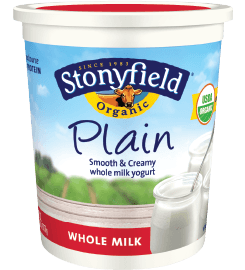 Avoid GMOs - Go Organic (Stonyfield) at 100 Days of Real Food #GMO #organic #realfood