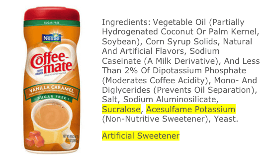 """Sugar Free"" Does Not Equal Healthy from 100 Days of #RealFood #sugarfree"
