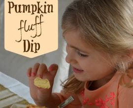 Pumpkin Fluff Dessert Dip from 100 Days of #RealFood