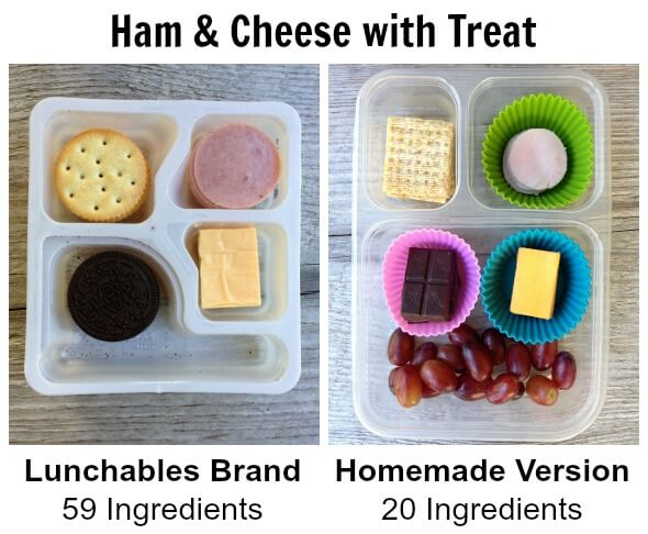 DIY Lunchables from 100 Days of #RealFood