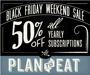 Plan to Eat Sale