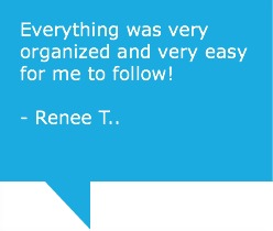 Testimonial from Renee T.