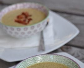 Broccoli Cheese Soup from 100 Days of #RealFood