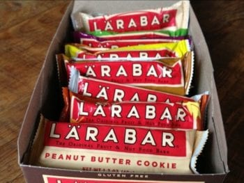 """lara bars as few as 2 ingredients 350x263 - Two """"Real Food Approved"""" Store Bought Snacks"""