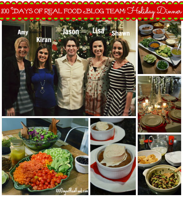 100 Days of #RealFood Blogging Team