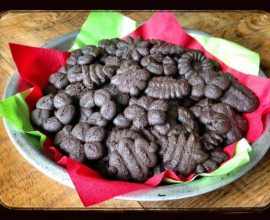 Chocolate Peppermint Cookies by 100 Days of #RealFood