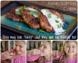 Asian Salmon Cakes from 100 Days of #RealFood