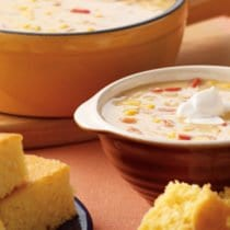Corn Chowder from Stonyfield and 100 Days of Real Food