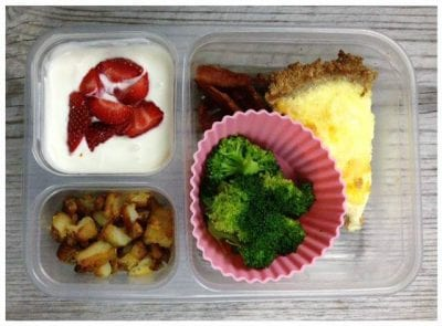 School Lunches from 100 Days of #RealFood