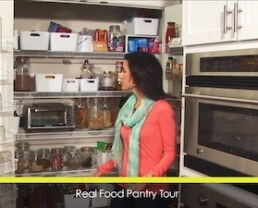 Video: A Tour of my Real Food Pantry