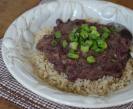 Red Beans and Rice from 100 Days of #RealFood