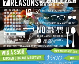 Real Food Deserves Real Containers + $500 Giveaway!