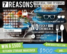7 reasons your real food deserves real containers