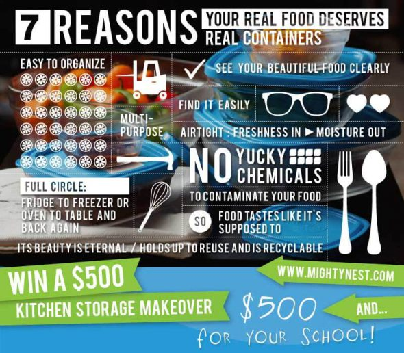 7 reasons your real food deserves real food containers