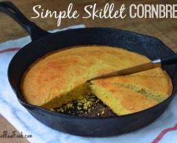 Recipe: Simple Skillet Cornbread
