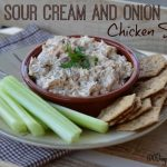 Sour Cream and Onion Chicken Salad from 100 Days of #RealFood