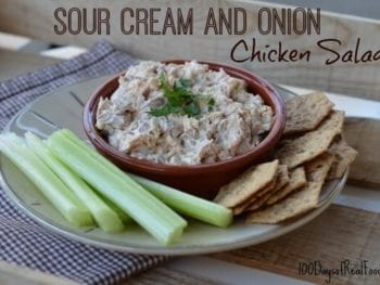 Sour Cream and Onion Chicken Salad