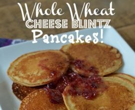 #Cheese Blintz Pancakes by 100 Days of #RealFood