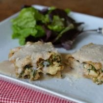 White #Chicken Lasagna from 100 Days of #RealFood