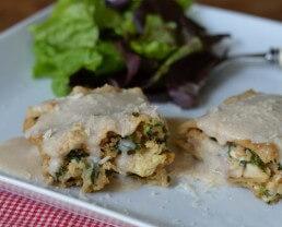 Recipe: White Chicken Lasagna