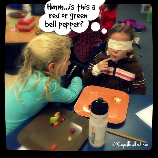 Taste Testing Games for Picky Eaters (and for fun!) at 100 Days of #RealFood