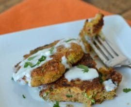 Carrot Fritters from 100 Days of #RealFood