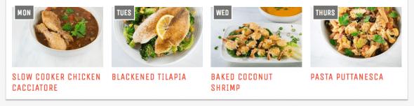 Cook Smarts Meal Plan