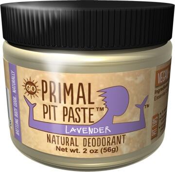 Primal Pit Paste natural deodorant on 100 Days of #RealFood