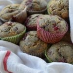 Lemon Raspberry Muffins from 100 Days of #RealFood