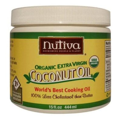 Coconut Oil Eye Make Up Remover from 100 Days of #RealFood