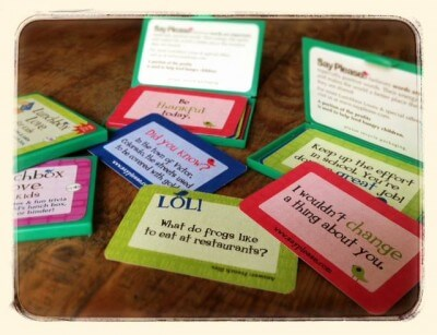 Lunchbox Love Cards on 100 Days of #RealFood
