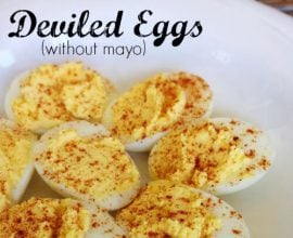 Deviled Eggs from 100 Days of #RealFood