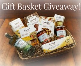Jovial Foods gift basket 100 Days of #Realfood