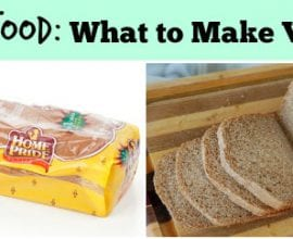 What to Make vs Buy from 100 Days of #RealFood