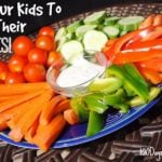 Get Your Kids To Eat Their Veggies on 100 Days of #RealFood