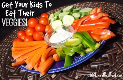 7 ways to get your kids to eat their veggies